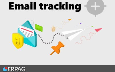 Email tracking function in ERPAG