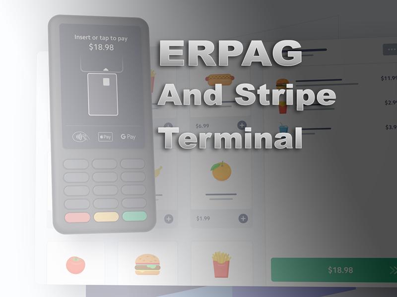 Stripe Terminal & ERPAG integration