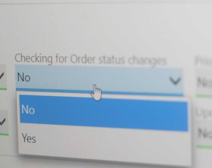 Shopify order status changes